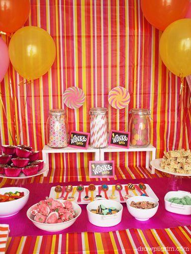 Wonka Birthday Party- love these ideas!
