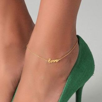 I'm obsessed with ankle bracelets, I would definitely wear this with heels or sandals...    Shop link: www.cost21.com/...      Bracelets (855) >  cheap fashion bracelet >  Fashion Chic Love anklets