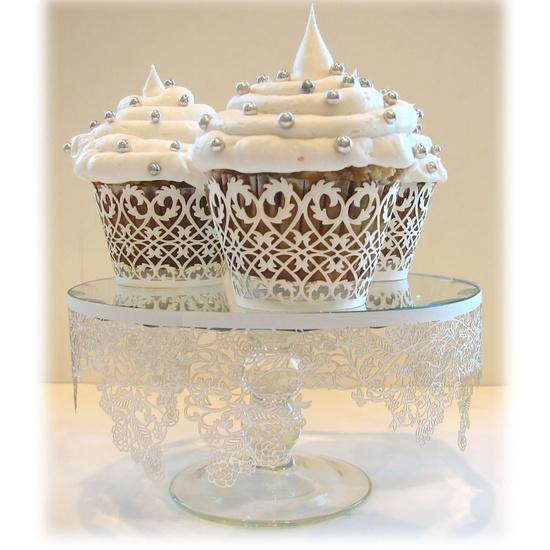 nice white cupcakes