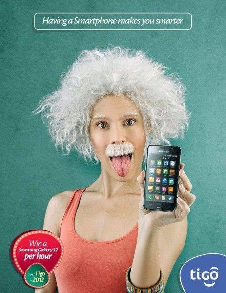 samsung having smart phone makes you smarter