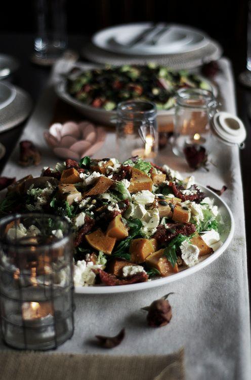 Pumpkin, Fetta, & Sundried Tomato Salad