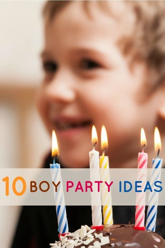 10 Awesome Boy Party Ideas
