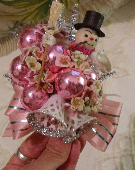 Christmas Corsage