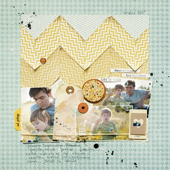 ania-maria on Flickr  #scrapbooking