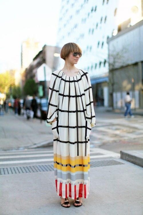 #print #pattern #dress #street #style #fashion