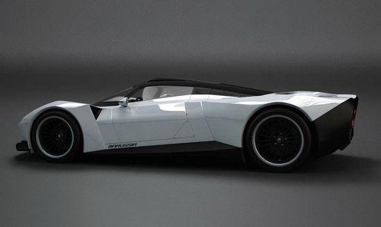 Marussia - Electric Super Car of Russia