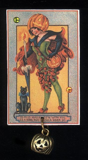 Halloween-vintage card