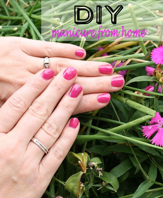 Do it yourself Manicure from home!