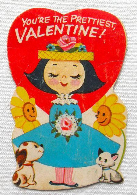 1950s Vintage Valentine Greeting