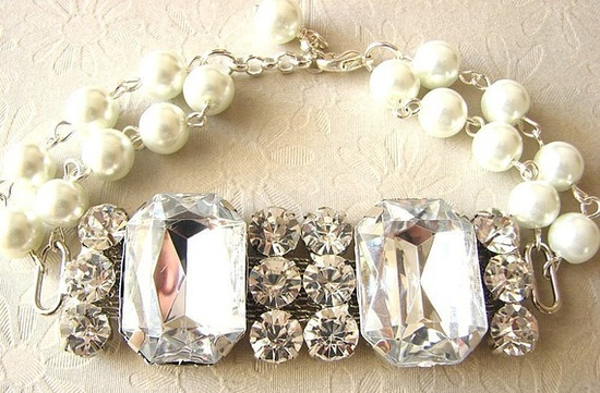 Vintage Wedding Jewelry.
