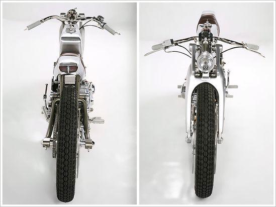 Moto Guzzi Nuovo Falcone - Medaza Cycles - Pipeburn - Purveyors of Classic Motorcycles, Cafe Racers & Custom motorbikes
