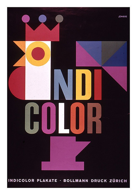 Indi-color poster