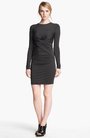 T by Alexander Wang Twist Detail Dress
