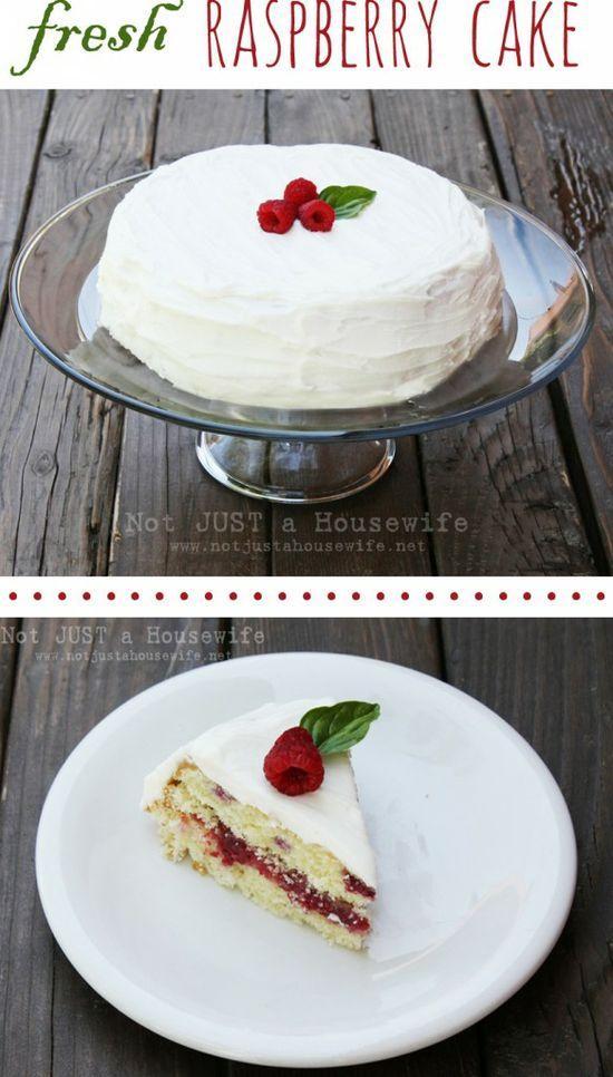 raspberry cake recipe
