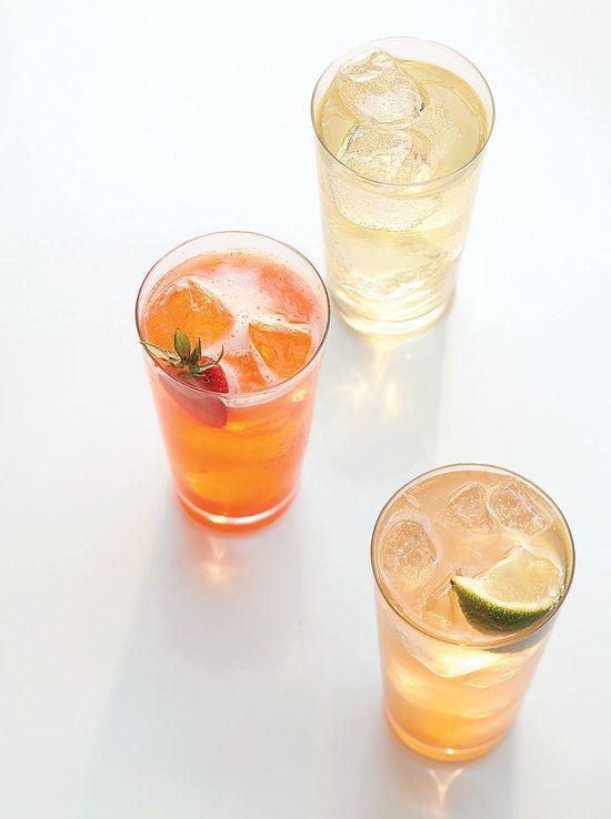 Spicy ginger soda (non-alcoholic)