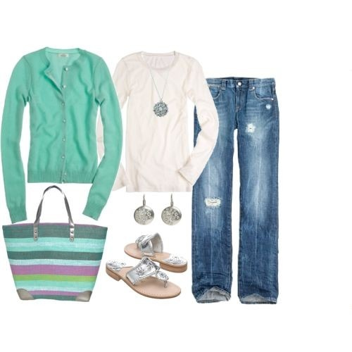 I like this outfit, but I'd wear it with Keds or similar.
