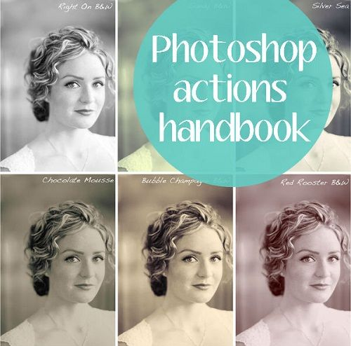guide to photoshop actions . free actions too