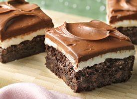 Gluten-Free Peppermint Patty Brownies