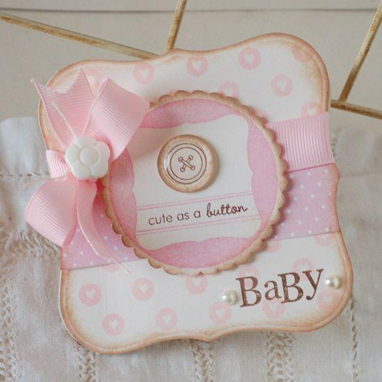 Adorable baby card