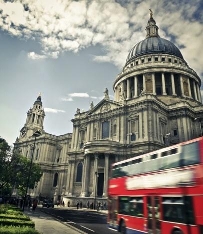autobus wycieczkowy w Londynie