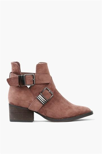 Broncho Bootie in Taupe