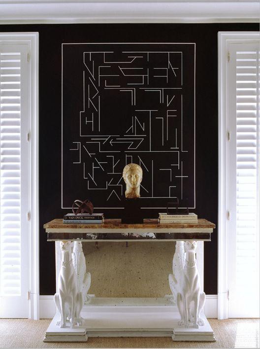 Luis Bustamante interior design