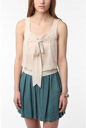 I love nude colored clothing for summer, so feminine.