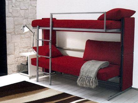 #college #bunkbed #bedroom #design #decor #red