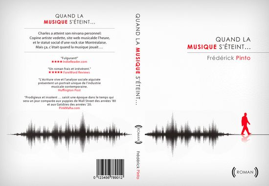 Book cover design for Frederick Pinto by ianskey