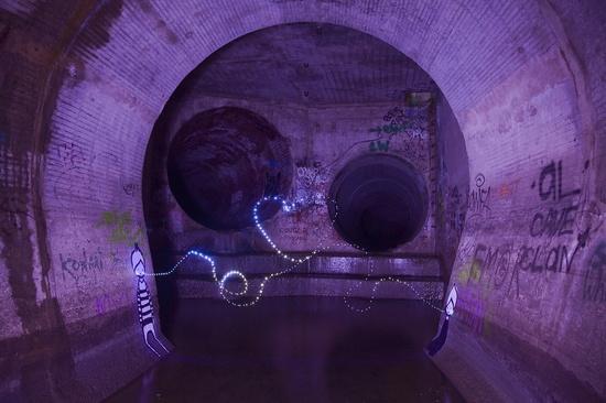 Underground graffiti