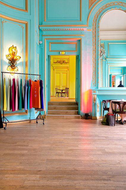 Le salon bleu - Maxim's