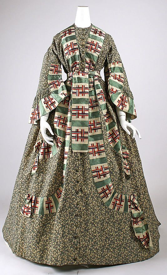 Dressing Gown 1860s