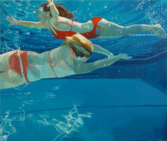 Endless Summer, archival large print by Samantha French. You could just dive right in. #rowenamurillo