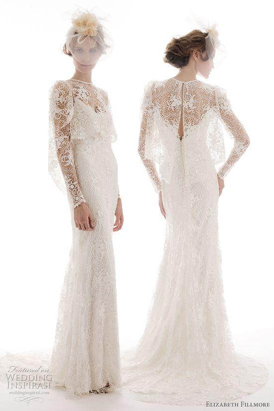 Elizabeth Fillmore Spring 2012 Wedding Dresses