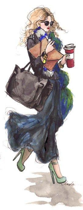 Fashion illustration Fashion illustration Fashion illustration