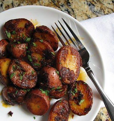 smoked paprika potatoes.