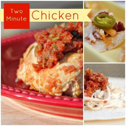 Easy 2 Minute Slow Cooker Chicken