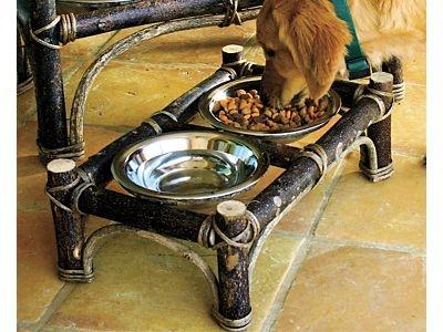 Twig Pet Feeder - Medium...$69.95 buy at blackforestdecor.com