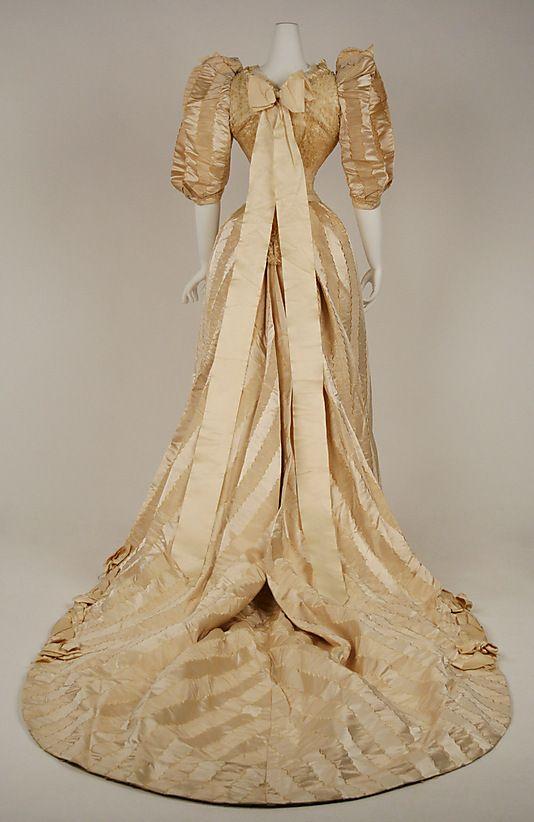 Wedding dress 1892