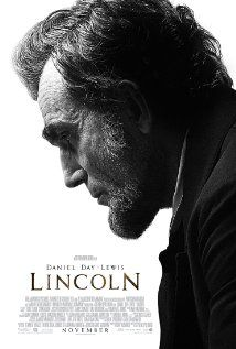 Lincoln.  Daniel Day-Lewis is good as Lincoln, as you'd expect.  The scenes with Mary Todd felt pretty melodramatic.  Overall feels like a well-done but formulaic period piece.  2012's The King's Speech.