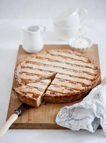 Crostata with Ricotta & Almonds