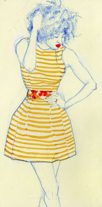 Fashion Illustration #art #fashion