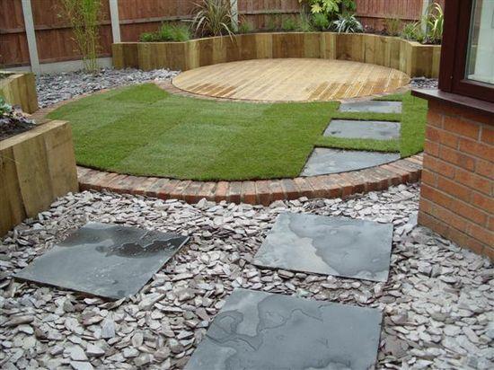 Contemporary garden : Angie Barker Trading as Garden Design for All Seasons