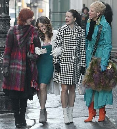 Charlotte and Carrie's styles are my favorite