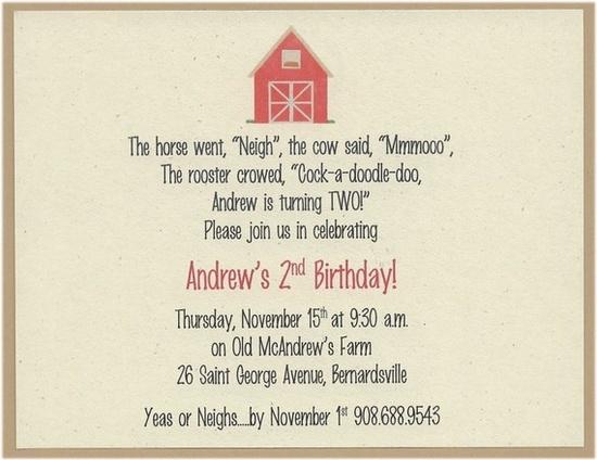 Love this invitation!
