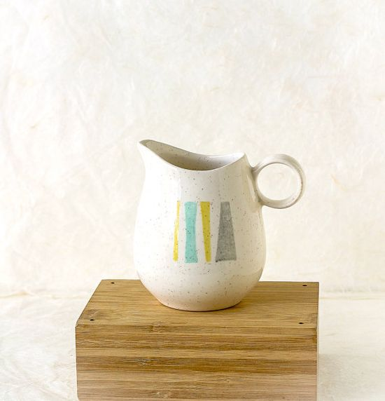 Vintage Vernonware Pitcher Anytime Pattern by TheOtherLifeVintage, $11.00