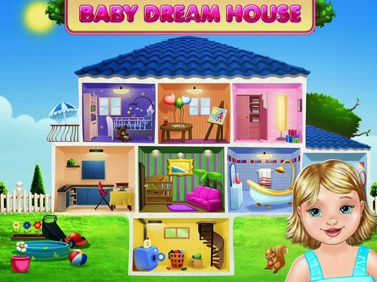 Baby Dream House - Care, Play And Party At Home! App