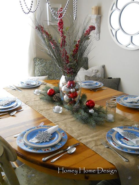 homey home design: Christmas Tablescape