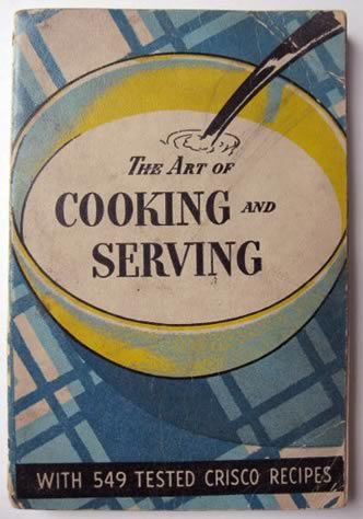1937 Crisco Art of Cooking Vintage Cook Book