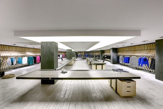VIGOSS Textile showroom and design office by Zemberek Design Office, Istanbul – Turkey